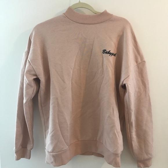 227299f47ff Topshop babygirl soft pink sweater. M 5b6880a85bbb80f122ee1423